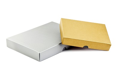 Available in classic gold and silver colours as well as many other options - premium gift boxes for self assembly