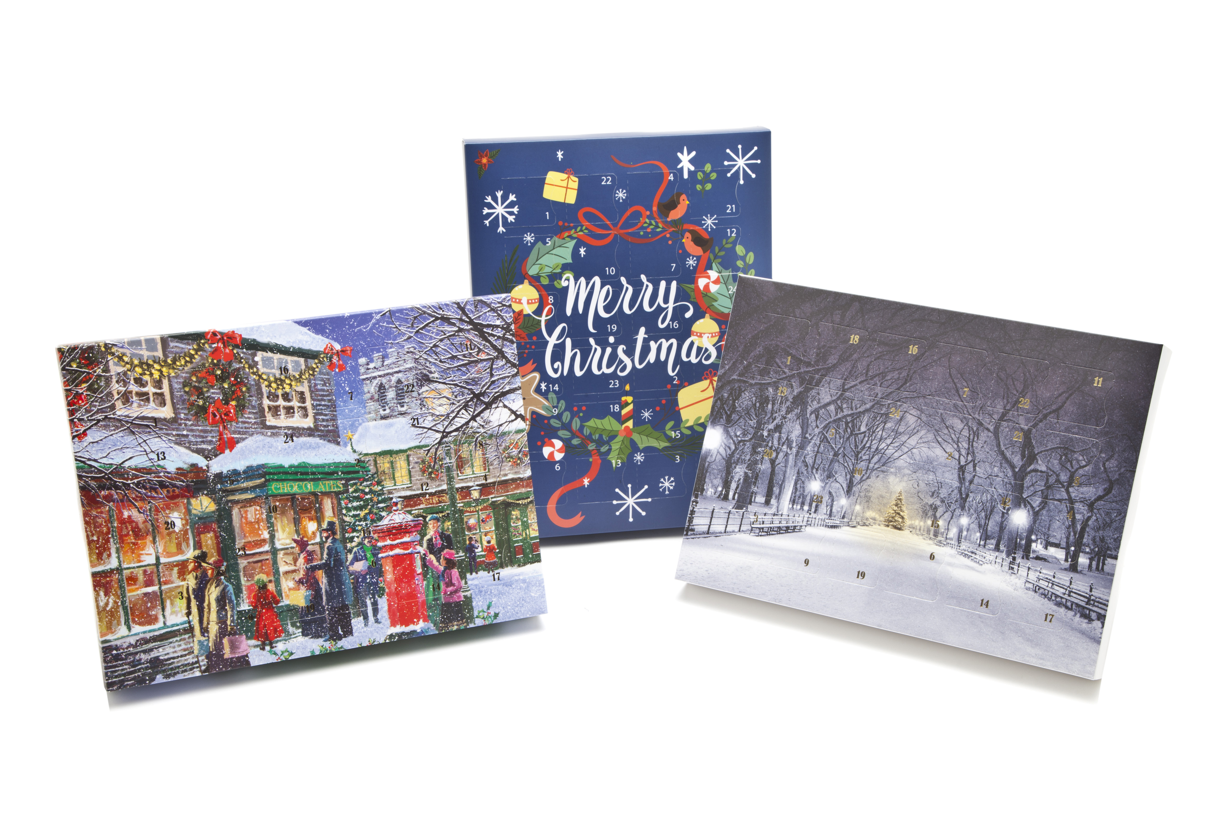 The Beautiful Premium Deluxe advent calendar range from Meridian Speciality Packaging - fill it yourself at home or in your shop