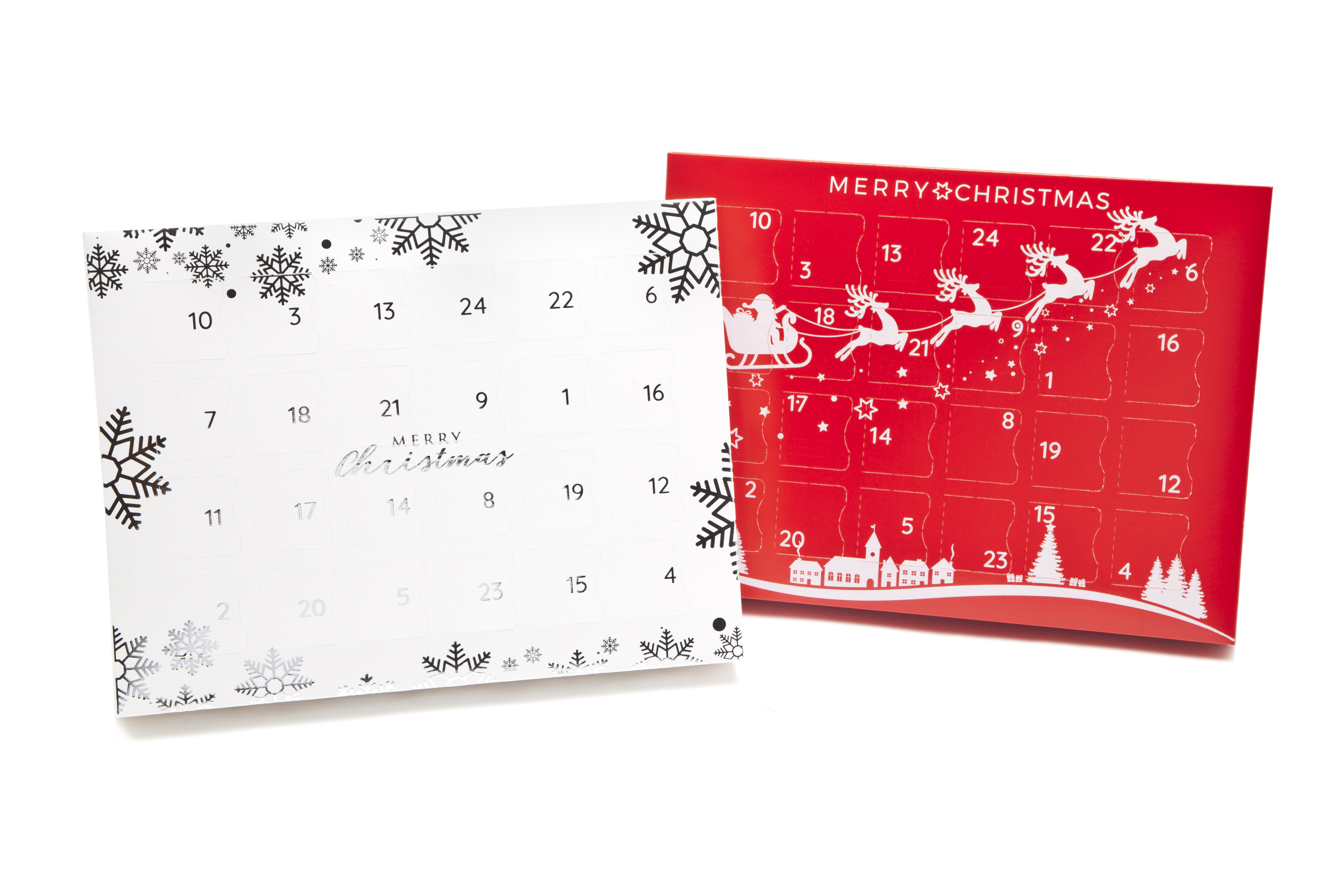 Two new designs make up the new Premium Light advent calendar range